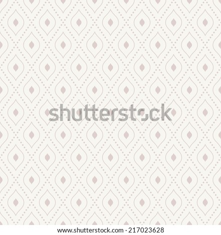 Geometric repeating vector pattern. Seamless abstract modern texture for wallpapers and background - stock vector
