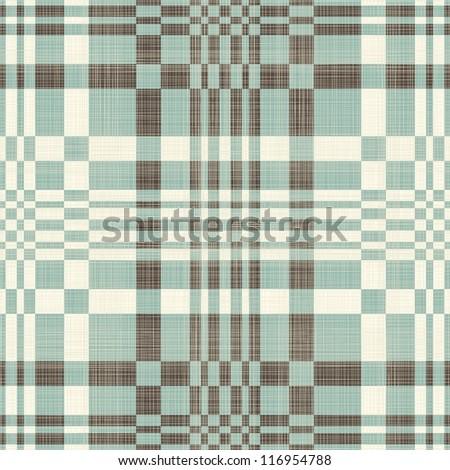 geometric retro seamless pattern - stock vector
