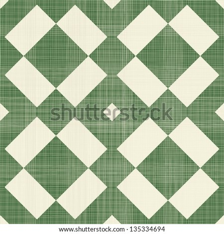geometric retro vintage seamless pattern in green and grey