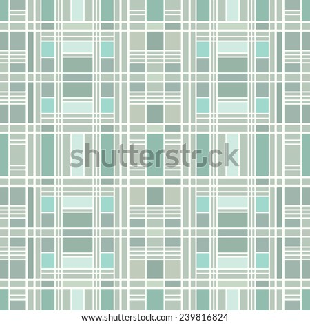 Geometric seamless background. Mosaic, hand-drawn pattern, line artwork. Can be used for card design, wallpaper, pattern fills, web page background, surface textures - stock vector