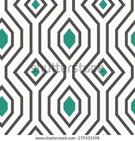 Geometric seamless pattern.  - stock vector