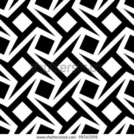 geometric seamless pattern - stock vector