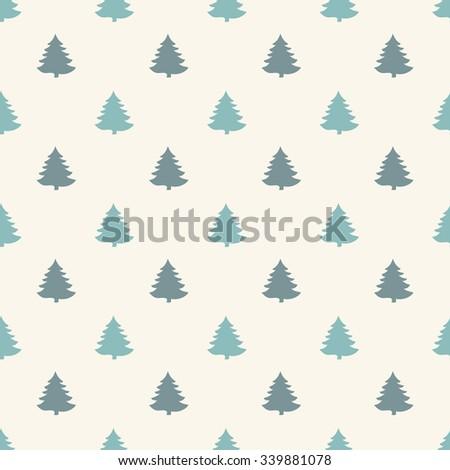 Geometric seamless pattern. Christmas for winter holidays design. Modern Christmas pattern. - stock vector