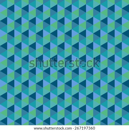geometric seamless pattern 10 eps - stock vector