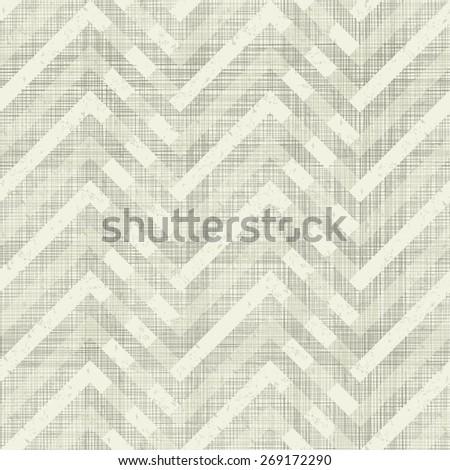 geometric seamless pattern on shabby background - stock vector