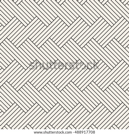 Geometric seamless pattern. Simple regular background. Vector illustration with striped herringbone.