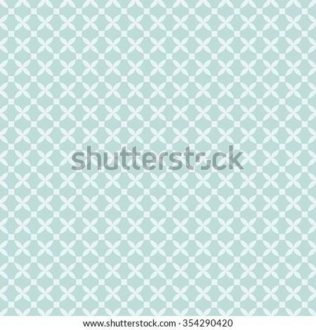 Geometric seamless pattern. Vector illustration. Pattern added to swatches panel.  - stock vector