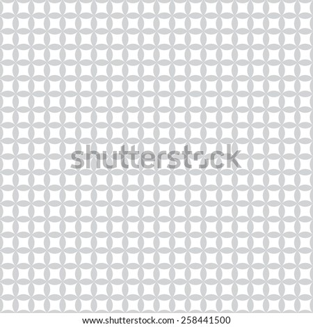Geometric seamless pattern with diamonds, and circles. Vector illustration - stock vector