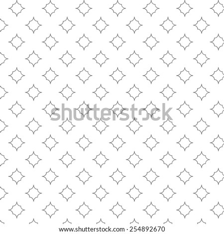 Geometric seamless pattern with rhombus - stock vector