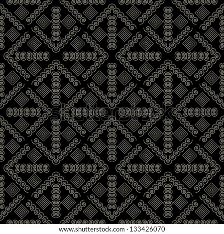 Geometric seamless patterns. Vector illustration.