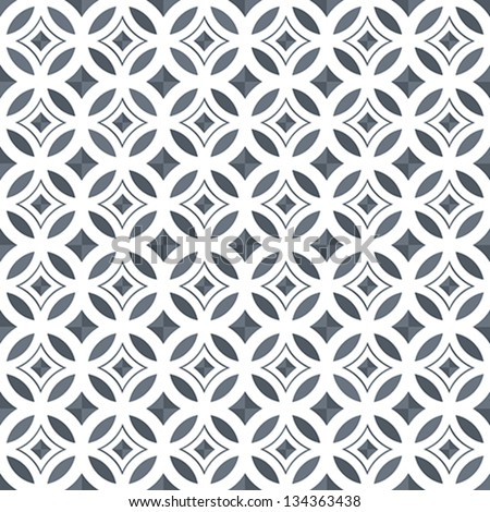 Geometric Seamless Vector Pattern - stock vector