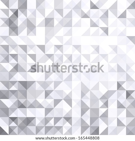 geometric style abstract white & grey background - stock vector