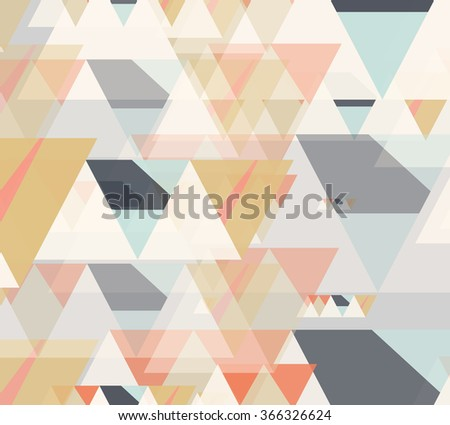 Geometric vector pattern.