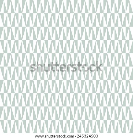 Geometric vector pattern with blue and white triangular elements. Seamless abstract texture for wallpapers and backgrounds - stock vector