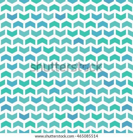 Geometric vector pattern with colorful arrows. Seamless abstract background