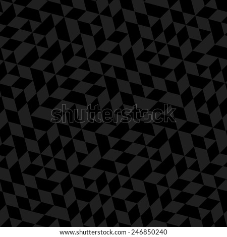 Geometric vector pattern with dark triangles. Seamless abstract texture for wallpapers and backgrounds