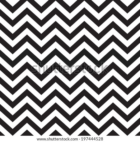 Geometric zigzag seamless pattern. Vector illustration - stock vector
