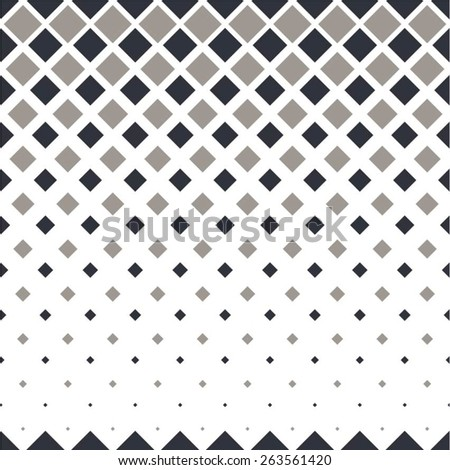 Geometrical pattern of squares seamless vector background. - stock vector