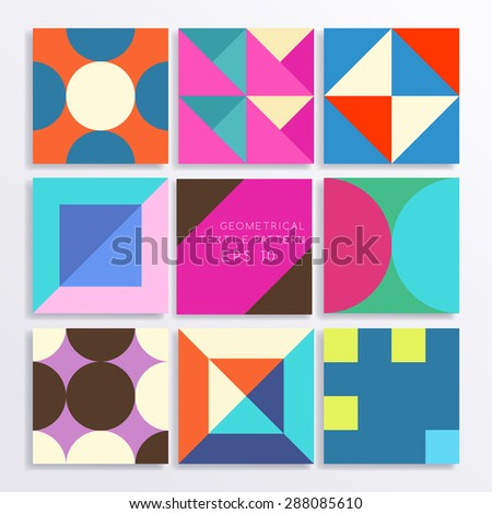 Geometrical Pattern : Vector Illustration