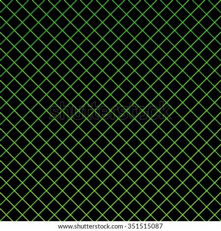 Geometrical seamless square pattern, image. Print wrapper, wrap, web, sheet, paper, website. Green, black colors
