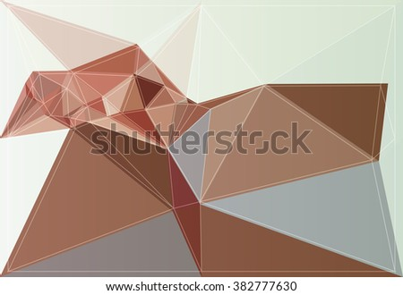 geometry graphic art origami texture style color