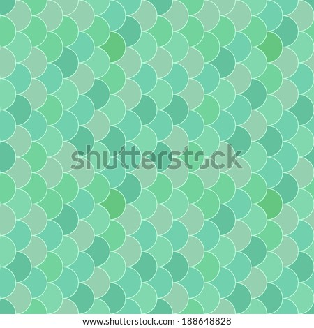 Geometry seamless vector pattern fish scale. Abstract mosaic background imitating fish scales - stock vector