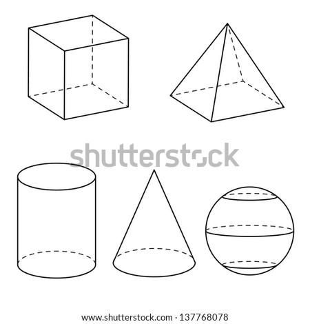 Geometry vector - stock vector