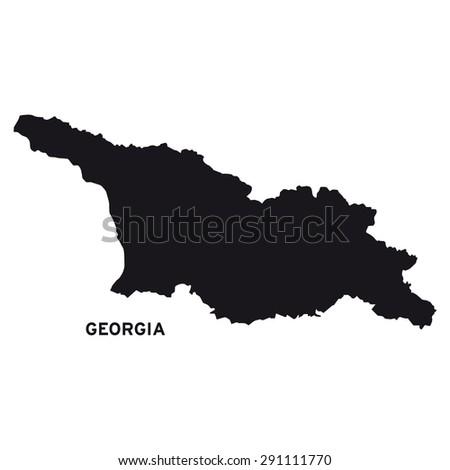 Georgia Map Stock Images RoyaltyFree Images Vectors Shutterstock - Georgia map images