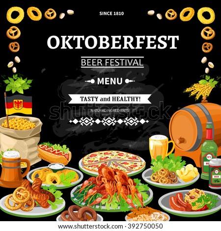 indian cuisine restaurant menu black board stock vector 392749867
