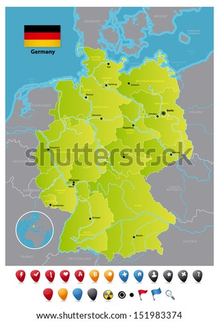 Germany - stock vector