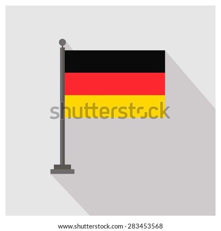 germany Country flag - stock vector