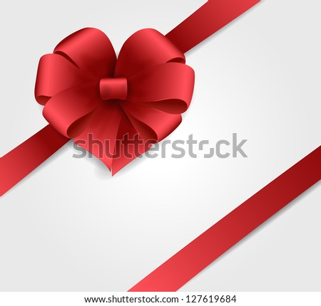 Gift bow - stock vector