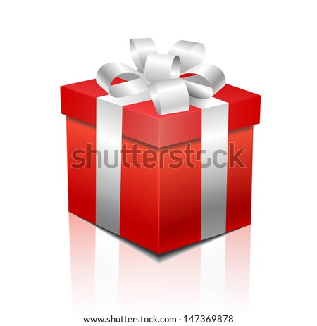 gift box - stock vector