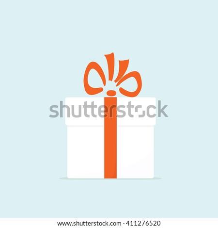 Gift box - stock vector