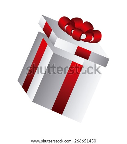 gift box design, vector illustration eps10 graphic