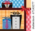 Gift Boxes - stock