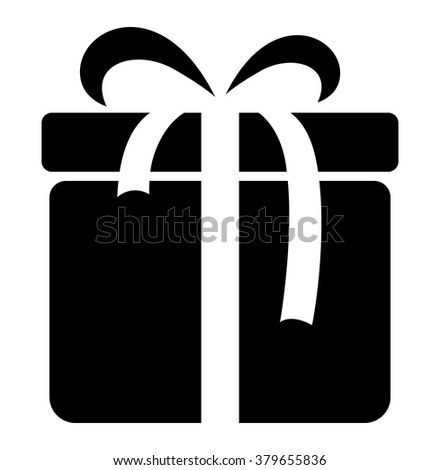 Gift boxes icon color black bows stock vector 379655836 shutterstock gift boxes icon color black with bows and ribbons on white background vector illustration negle Image collections