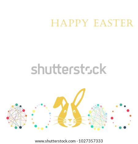 Gift card happy easter vector illustration stock vector 1027357333 gift card happy easter vector illustration background texture eggs wallpaper for store shop negle Gallery
