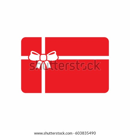 Gift card icon stock images royalty free images vectors gift card icon negle Gallery