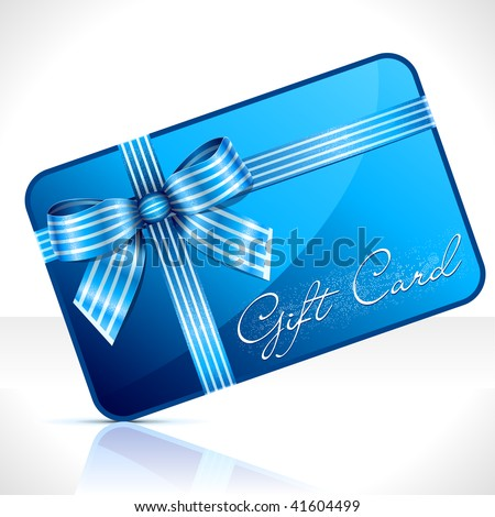 Gift Card. Vector Illustration - stock vector