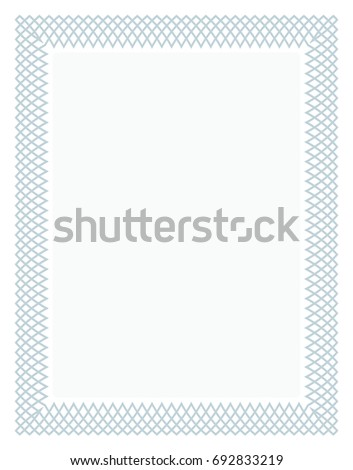 Gift certificate diploma award template border stock photo photo gift certificate diploma award template with border as celtic pattern and elements in vector yadclub Images