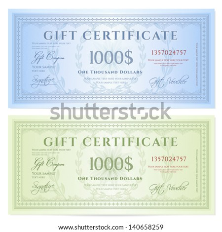 money gift certificate template - Fake Money Gift Certificate Template