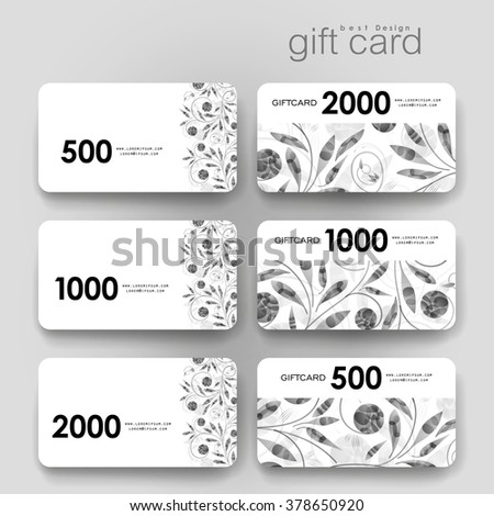 coupon layout