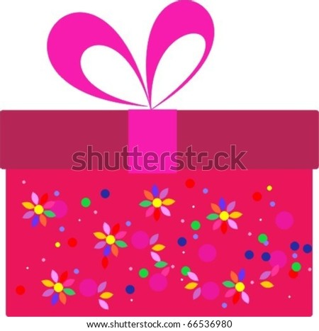 gift holiday - stock vector