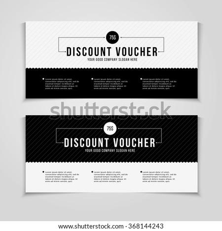 Voucher Photos RoyaltyFree Images and Vectors Shutterstock – Discount Voucher Design