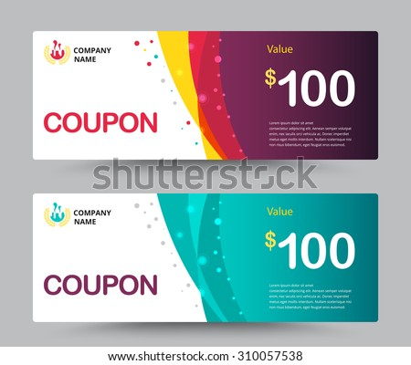 Coupon Images RoyaltyFree Images Vectors – Coupon Sheet Template
