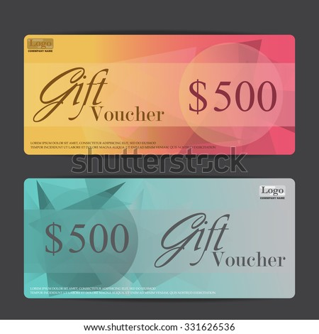 Gift voucher certificate coupon template can stock vector 331626536 gift voucher certificate coupon template can be use for business shopping card customer sale fbccfo Gallery