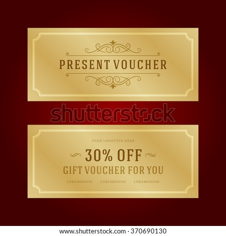Gift voucher template design gift box stock vector 370690130 gift voucher template design and gift box vector illustration voucher vector voucher template yadclub Images