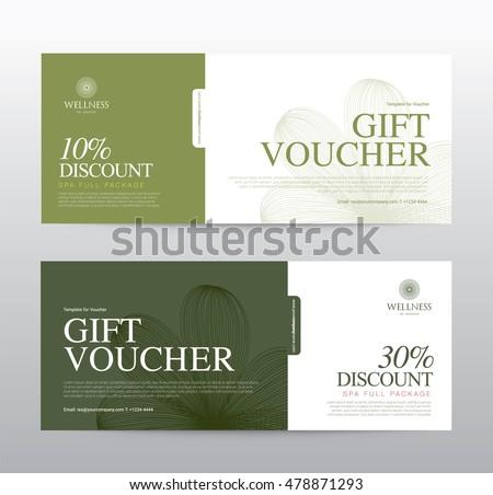 Meow wanvilai 39 s portfolio on shutterstock for Hotel voucher design