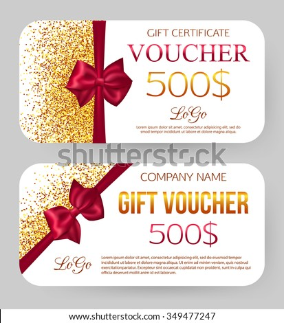 Gift Voucher Stock Images RoyaltyFree Images  Vectors